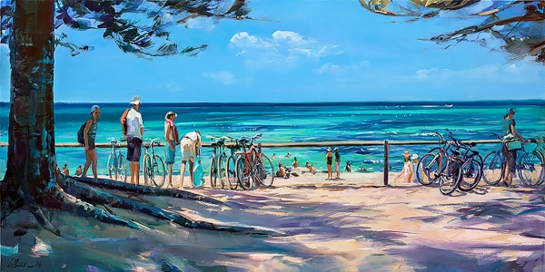 Greg Baker - 'Bikes At The Basin'