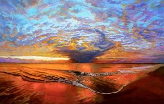 Corinne Barton - 'Golden Circle Landscape'