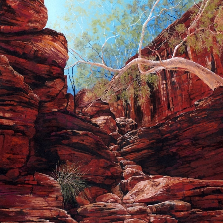 Jessica Holliday - 'Sun Soaked Cascade'