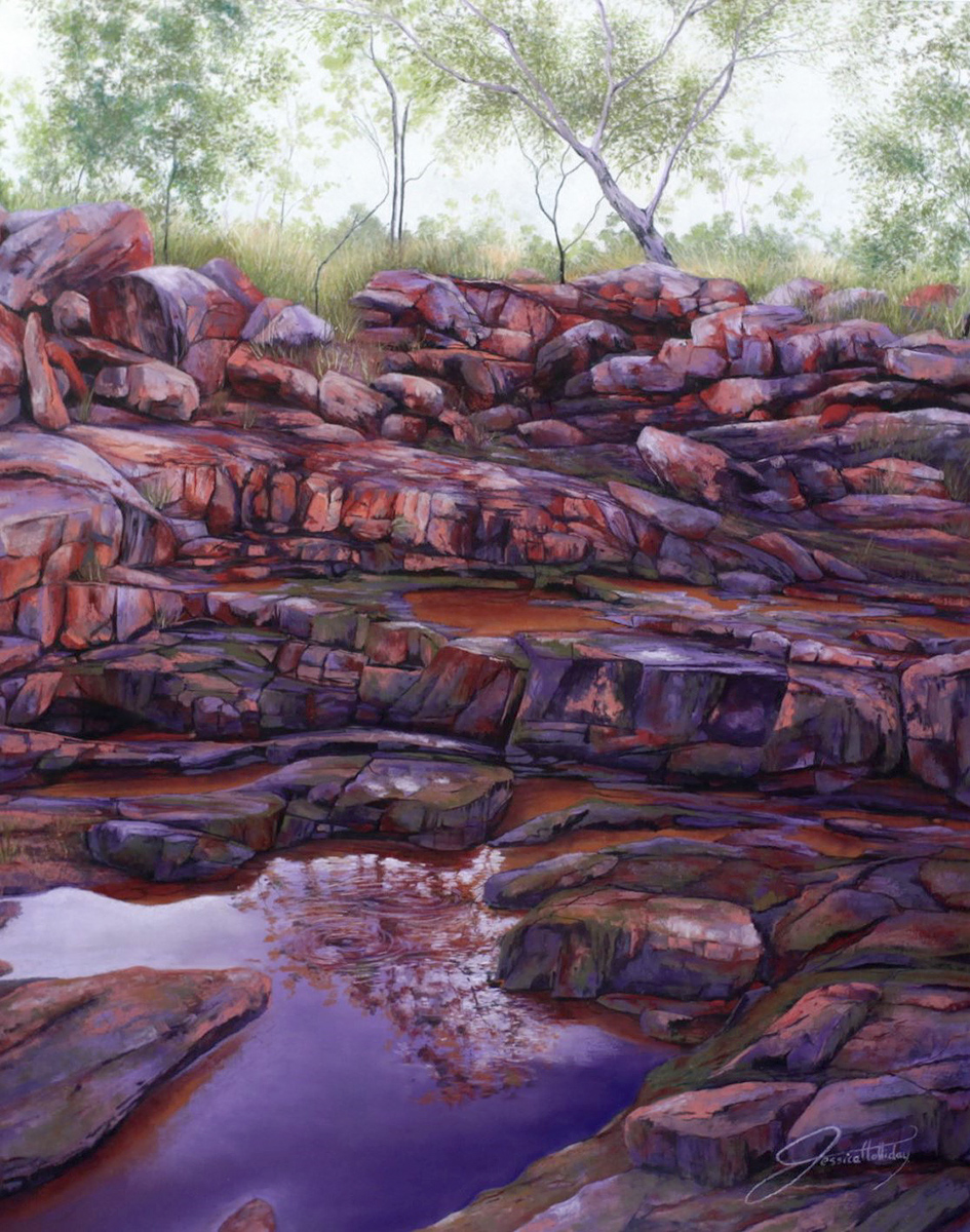 Jessica Holliday - 'Wollogorang Refuge'