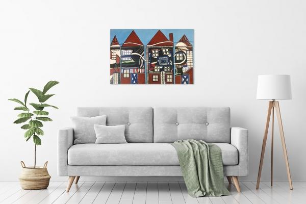 Karin Hotchkin - 'Inner City Living' in a room