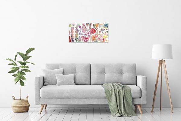 Karin Hotchkin 'Spring-Time' in a room
