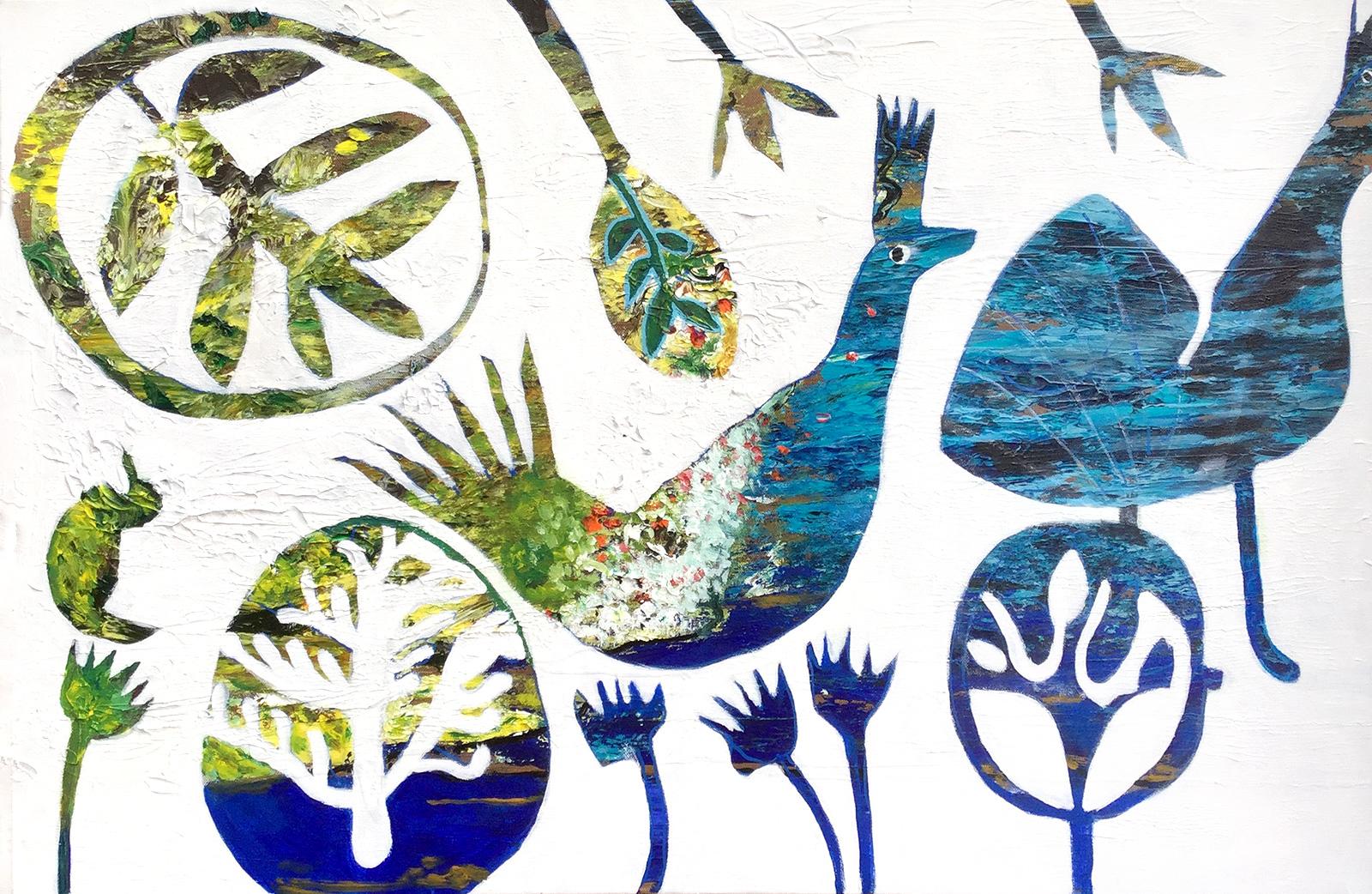 Karin Hotchkin - 'Water Birds'