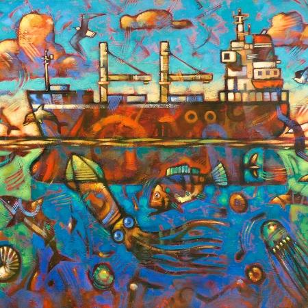 Malcolm Lindsay - 'All At Sea'