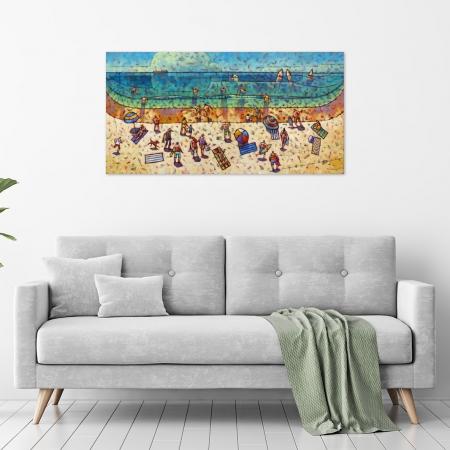Malcolm Lindsay - 'Bushy On The Beach' in a room