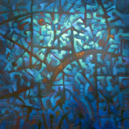 Malcolm Lindsay - 'Deep Blue'