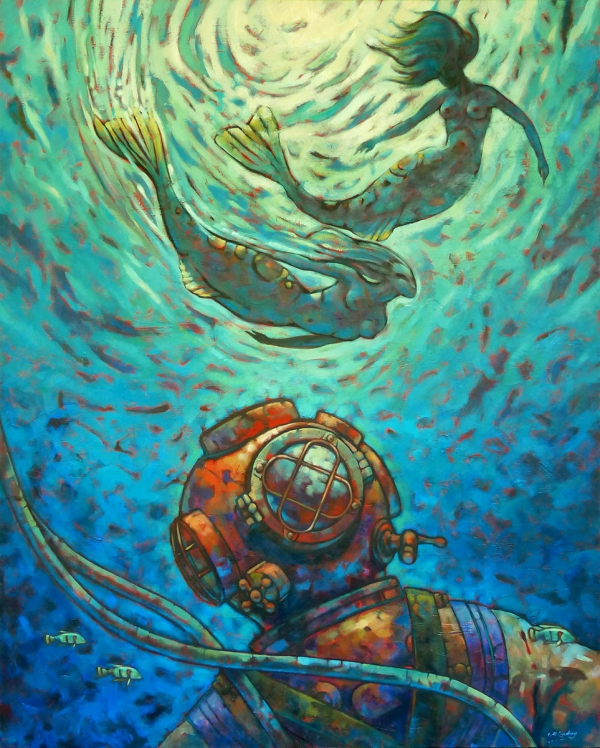 Malcolm Lindsay - 'The Divers Dream'