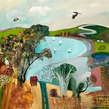 Susan Trudinger - Coastline