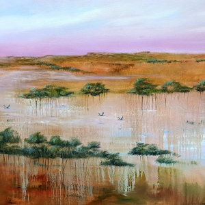 Flood Plain Flow by Suzy French