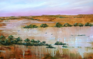 Suzy French - 'Flood Plain Flow'