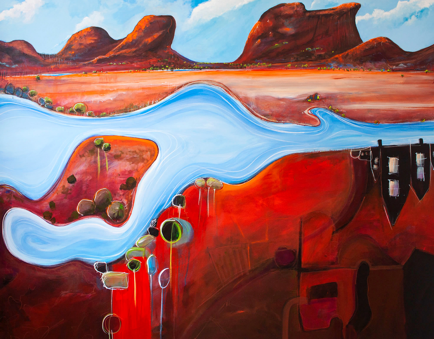 Tania Chanter - 'Meandering River'