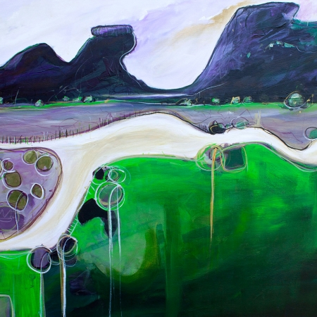 Tania Chanter - 'Meandering Road'