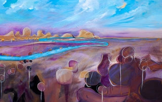 Tania Chanter - 'Meandering Sunset'