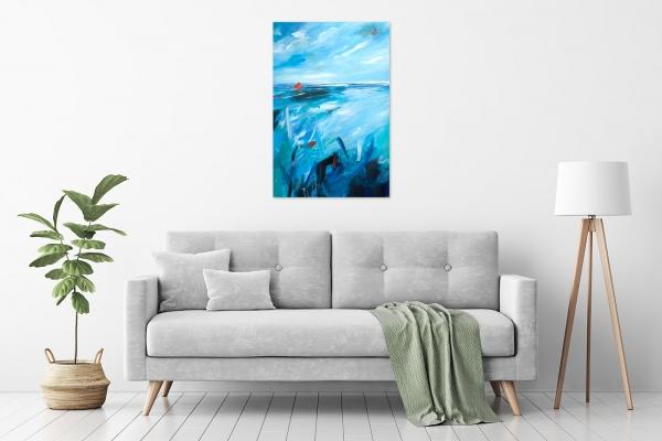 Tania Chanter - 'Sea Tangle' in a room
