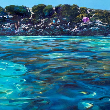 Greg Baker - 'The Lagoon, Little Salmon Bay'