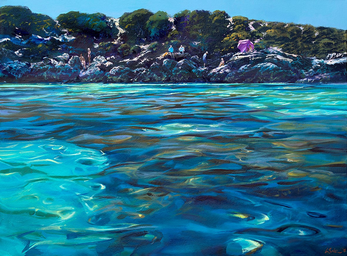 Greg Baker - 'The Lagoon, Little Salmon Bay'