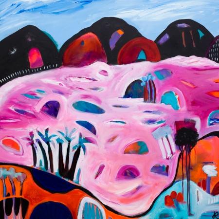 Jayne Rolinson - 'Pink Lakes'