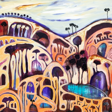 Jayne Rolinson - 'Whispering Trees 1'
