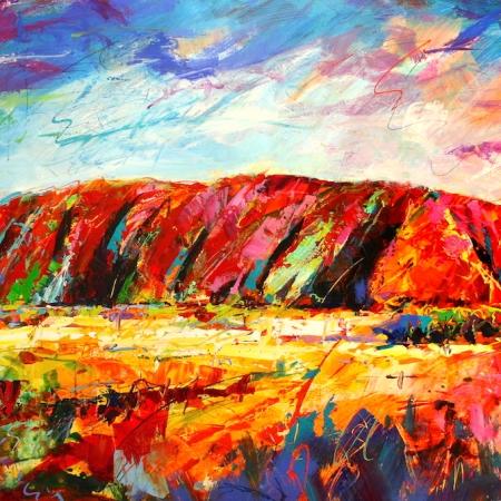 Jos Coufreur - 'Uluru, Central Australia'