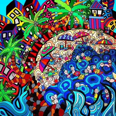 Karen Elzinga - 'Beach Dreaming'