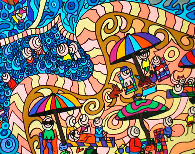 Karen Elzinga - 'Ocean Breeze' Detail 1