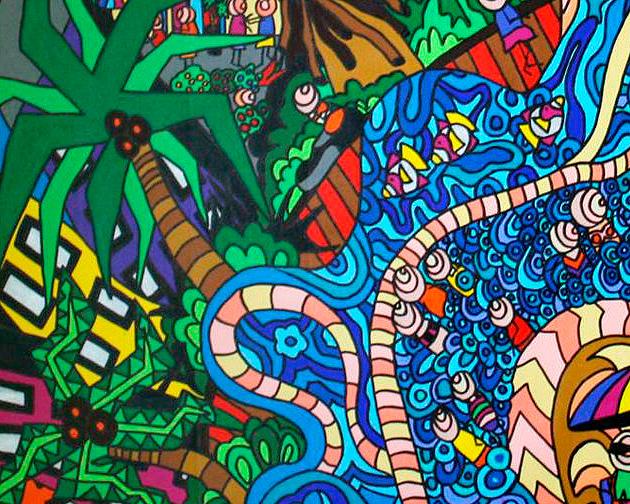 Karen Elzinga - 'Ocean Breeze' Detail 3
