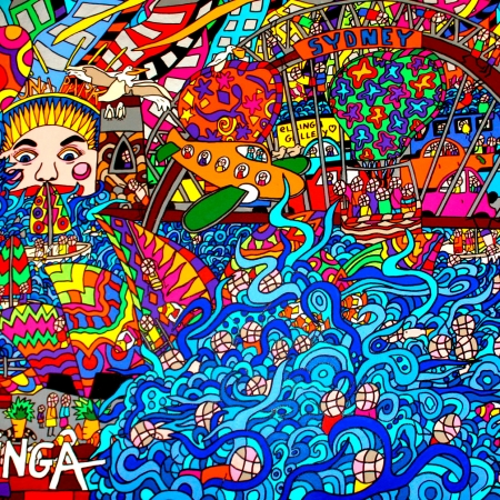 Karen Elzinga - 'Sydney Harbour'