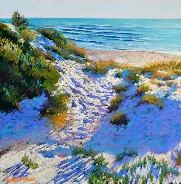 Shirley Fisher - 'Autumn Beach'