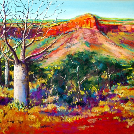 Shirley Fisher - 'Boabs In the Kimberley'