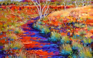 Shirley Fisher - 'Dales Gorge Dreaming'
