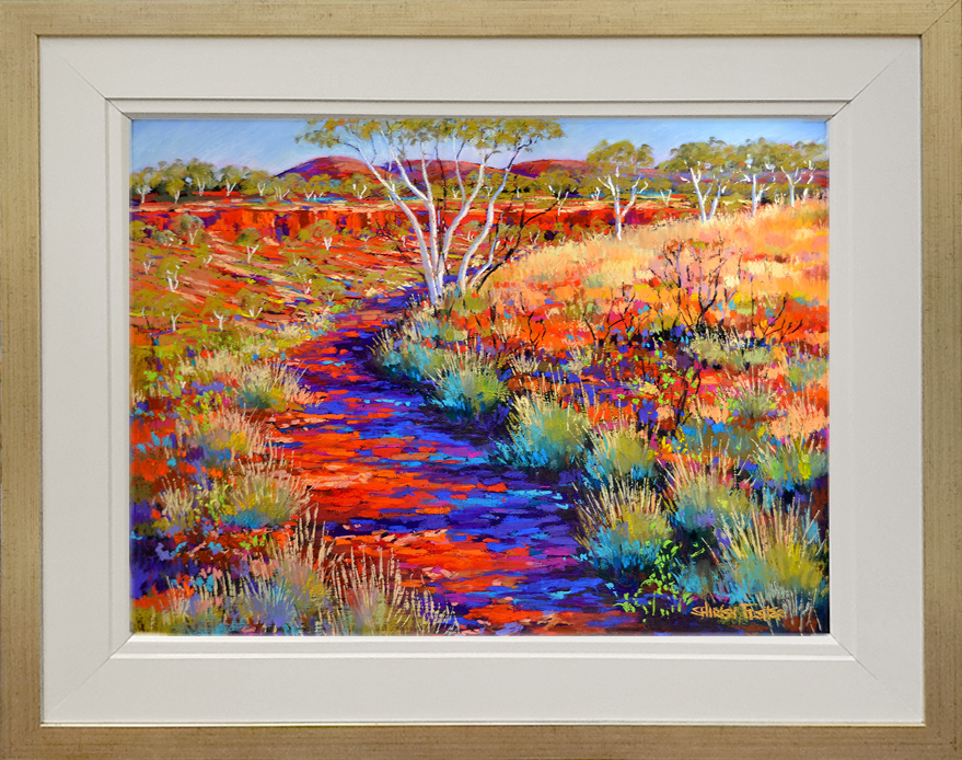 Shirley Fisher - 'Dales Gorge Dreaming' Framed