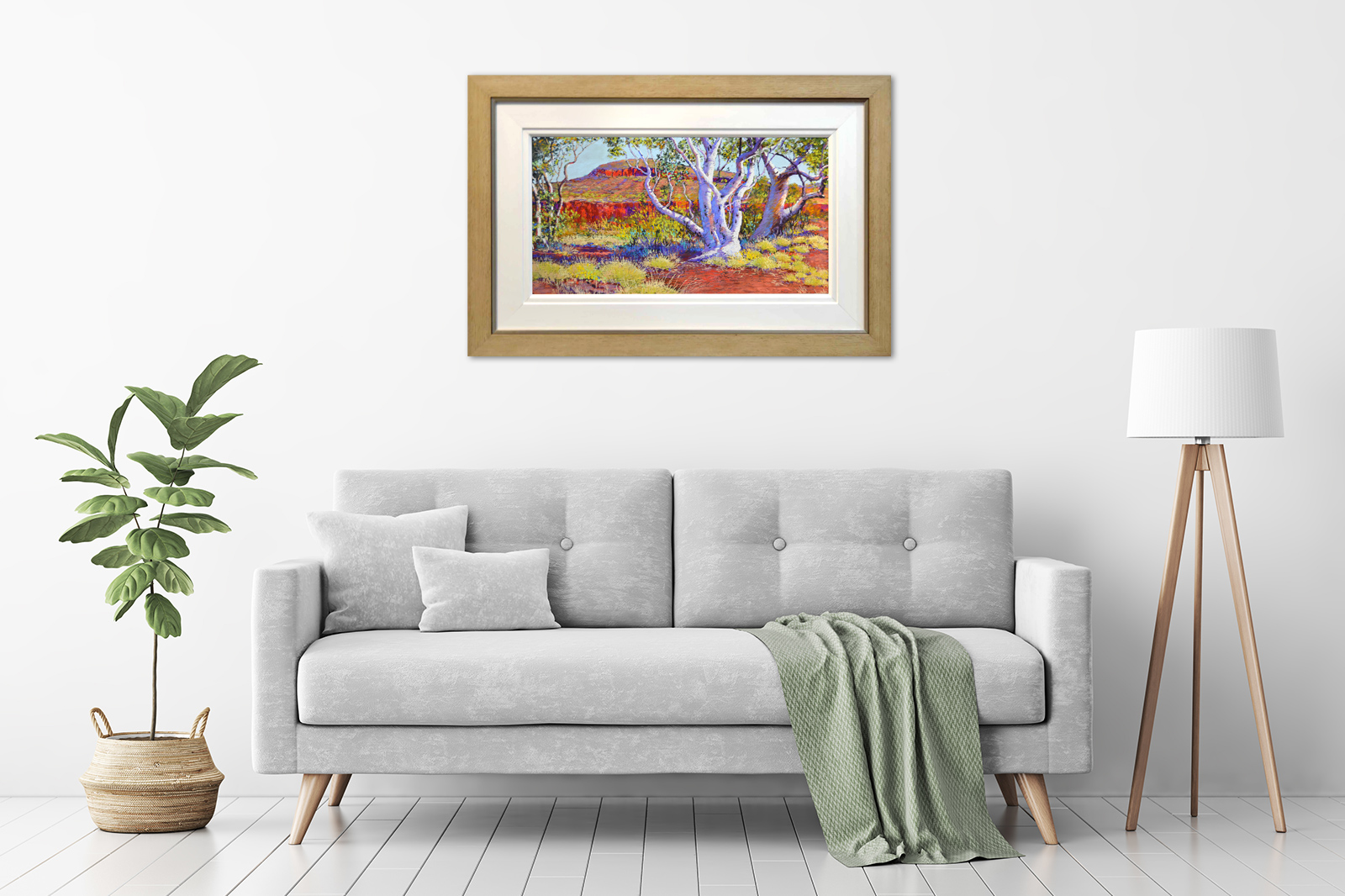 Shirley Fisher - 'Dales Gorge Snappy Gums' in a room
