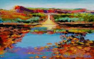 Shirley Fisher - 'Pentecost River Crossing'