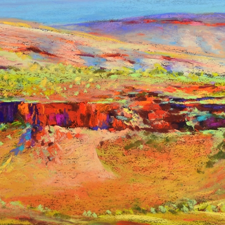 Shirley Fisher - 'View from Mt Sheila'