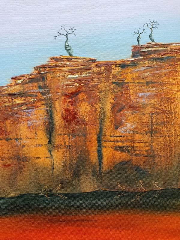 Suzy French - 'Boab Cliff 1'