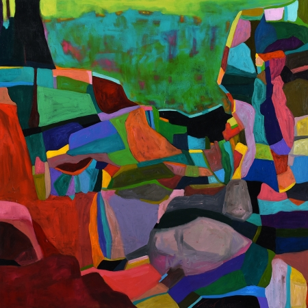 Tracey Harvey - 'Clifftop Kaleidoscope'