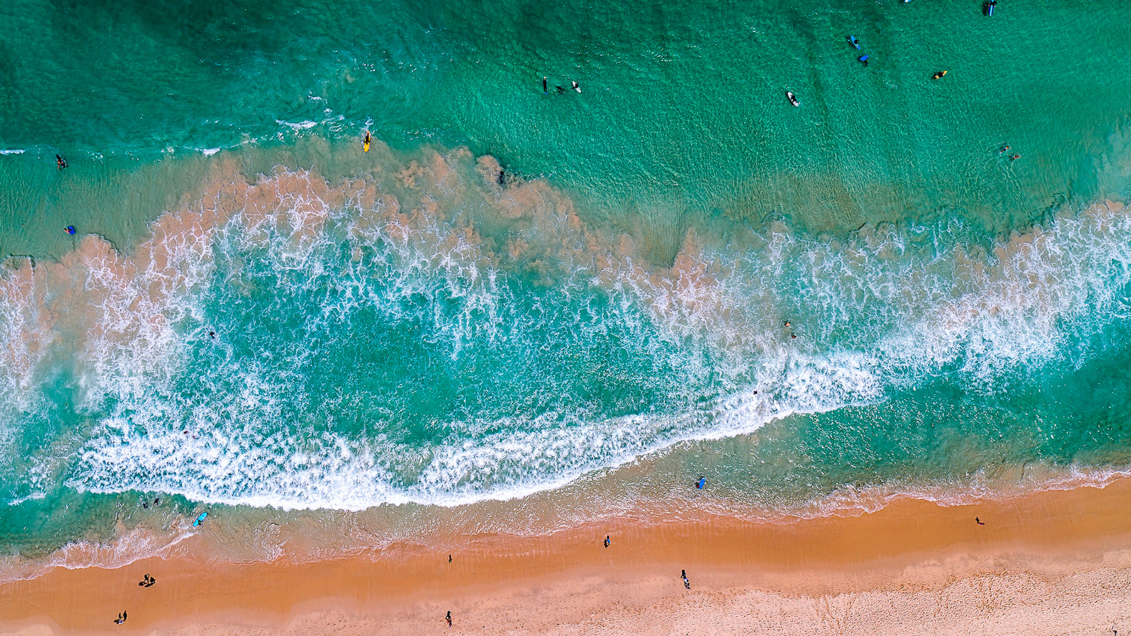 001 - Jason Mazur - 'Scarborough Beach Aerial'