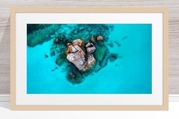 011 - Jason Mazur - 'Gannet Rock, Dunsborough' Light Frame