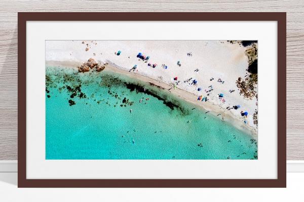 015 - Jason Mazur - 'Castle Bay Beach, Dunsborough' Dark Frame