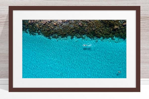 026 - Jason Mazur - 'Swimmers, Geographe Bay, Dunsborough' Dark Frame