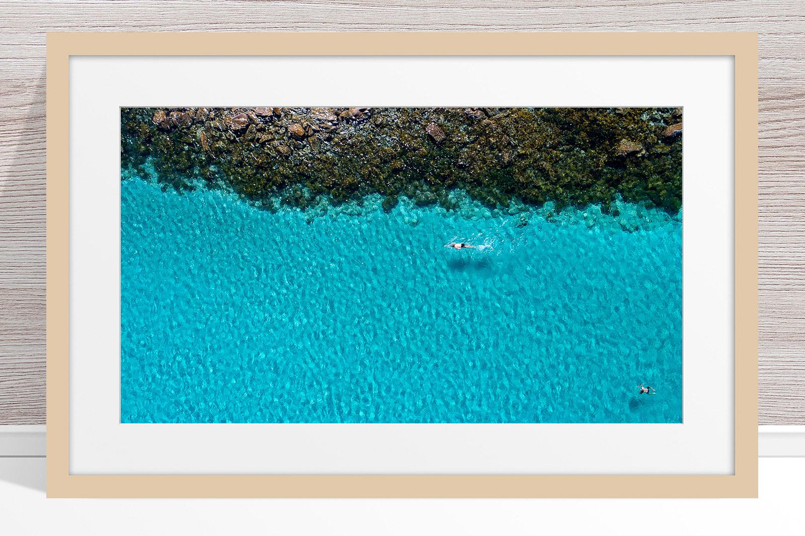 026 - Jason Mazur - 'Swimmers, Geographe Bay, Dunsborough' Light Frame