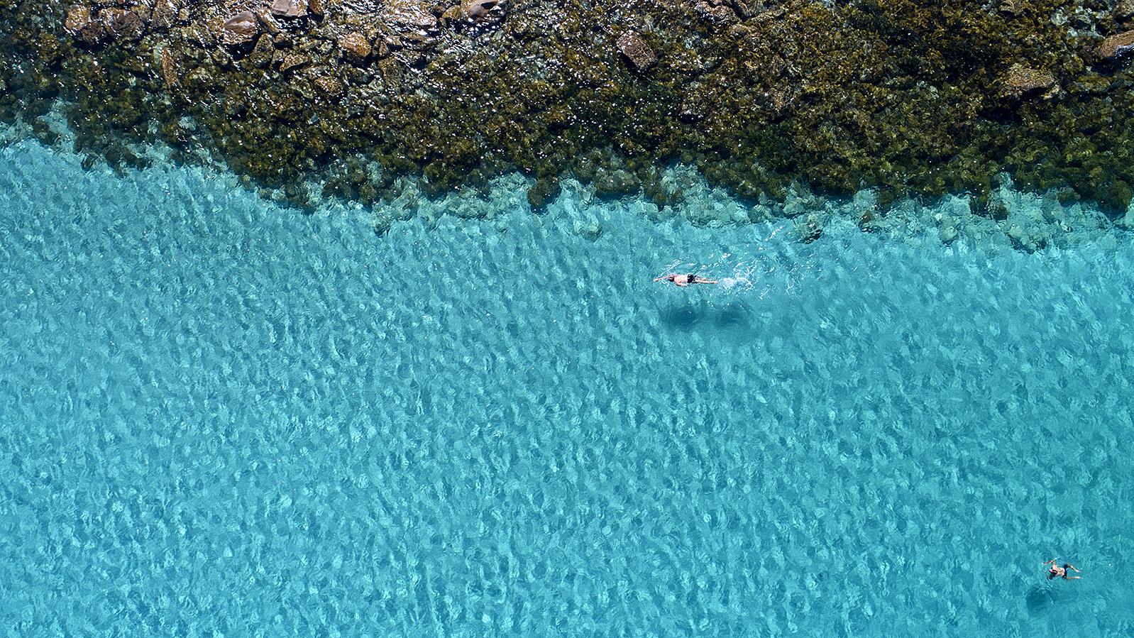 026 - Jason Mazur - 'Swimmers, Geographe Bay, Dunsborough'