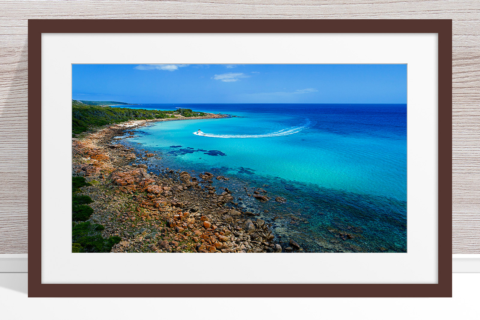 027 - Jason Mazur - 'Meelup Coastline, Dunsborough' Dark Frame