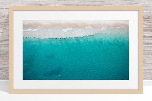 034 - Jason Mazur - 'North Beach Aerial' Light Frame