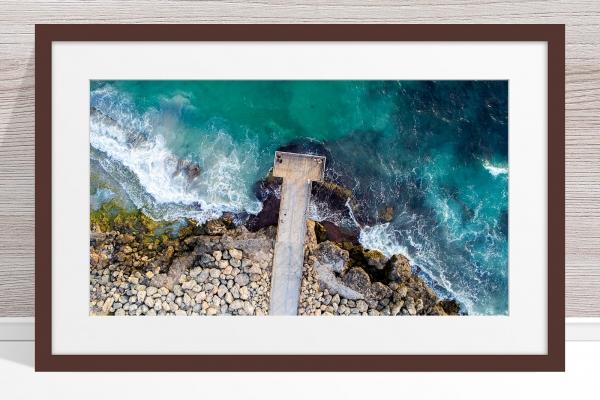 057 - Jason Mazur - 'North Beach Jetty' Dark Frame