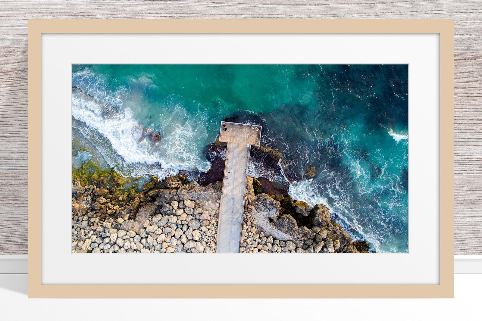 057 - Jason Mazur - 'North Beach Jetty' Light Frame