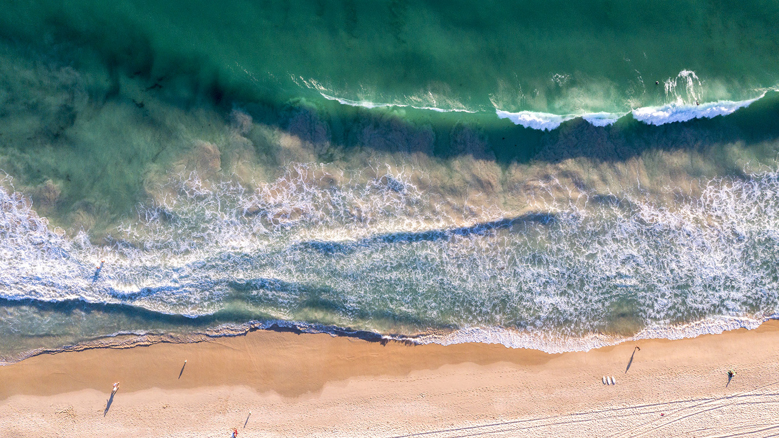 080 - Jason Mazur - 'Scarborough Beach Aerial'
