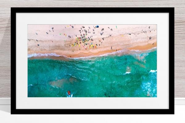 093 - Jason Mazur - 'Trigg Beach Surf Carnival' Black Frame