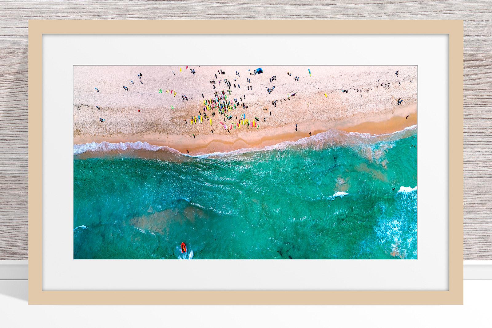093 - Jason Mazur - 'Trigg Beach Surf Carnival' Light Frame