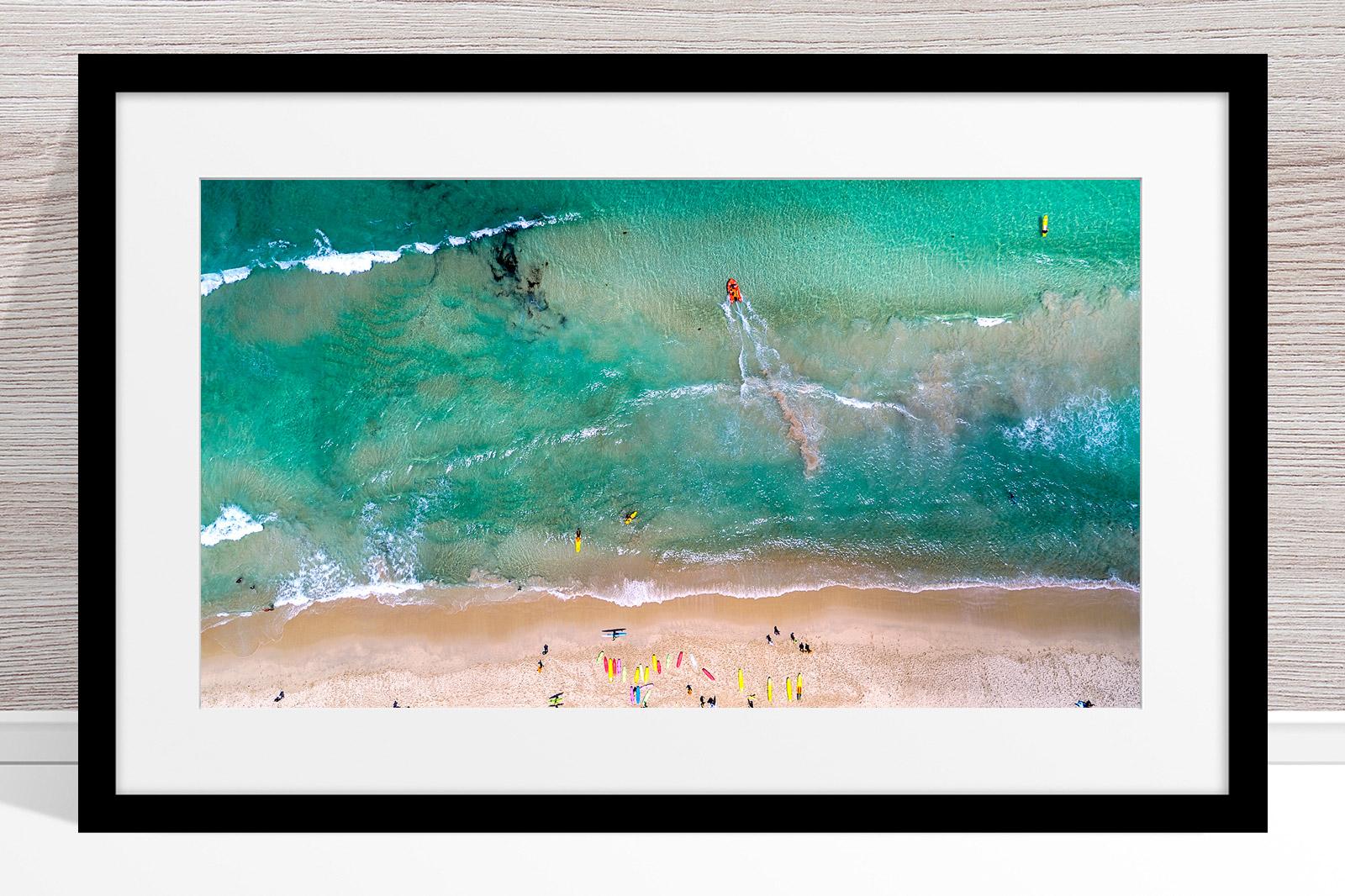 094 - Jason Mazur - 'Trigg Beach Surf Carnival' Black Frame